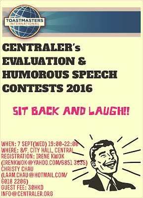 Centraler humorous speech competition